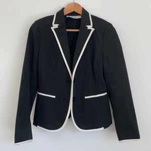 Black and White Formal Blazer